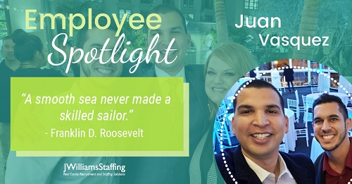 Employee Spotlight: Juan Vasquez