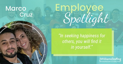 Employee Spotlight: Marco Cruz