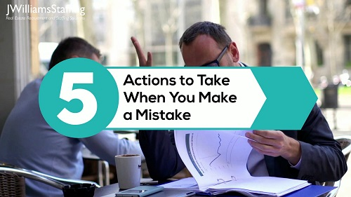 5 Actions to Take When You Make a Mistake
