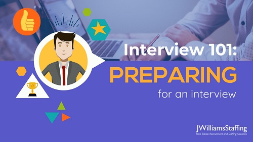 Interview 101: Preparing for an Interview